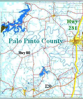 Palopinto03g follow the yellow line on the map below where hwy 281 cuts along the eastern portion of the county in a 2 lane highway sciox Choice Image